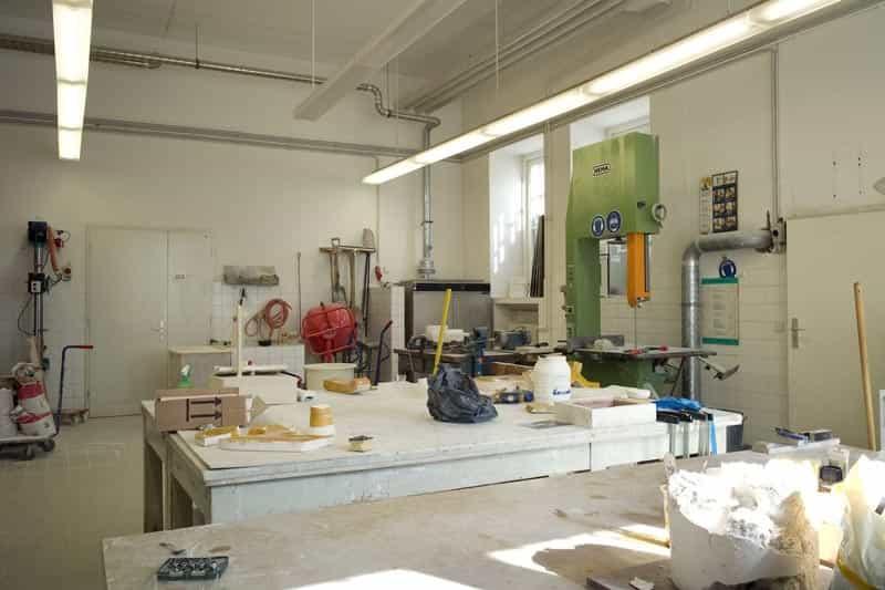 Gips-Werkstatt
